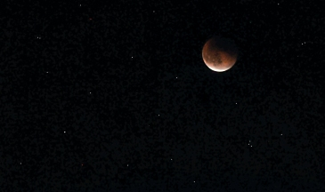 Lunar Eclipse Blood Moon on a Clear Night. Greetingsfromkelly. Greetings From Kelly. Kelly Blick