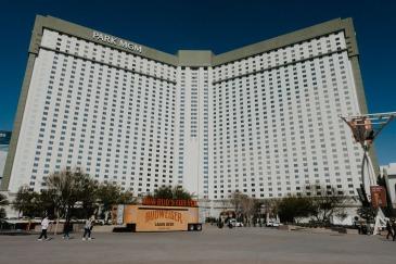 Exterior Shot of Park MGM In Las Vegas