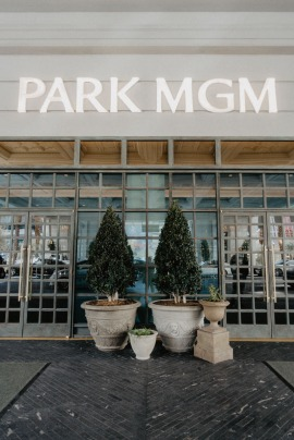 Front Entrance of Park MGM in Las Vegas