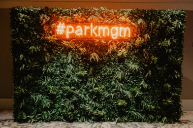A sign at the Park MGM hotel in Las Vegas on the Las Vegas Strip.  #parkmgm Greetingsfromkelly. Greetings From Kelly. Kelly Blick