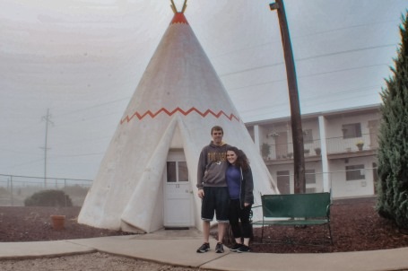 Us at the Wigwam in Holbrook Arizona
