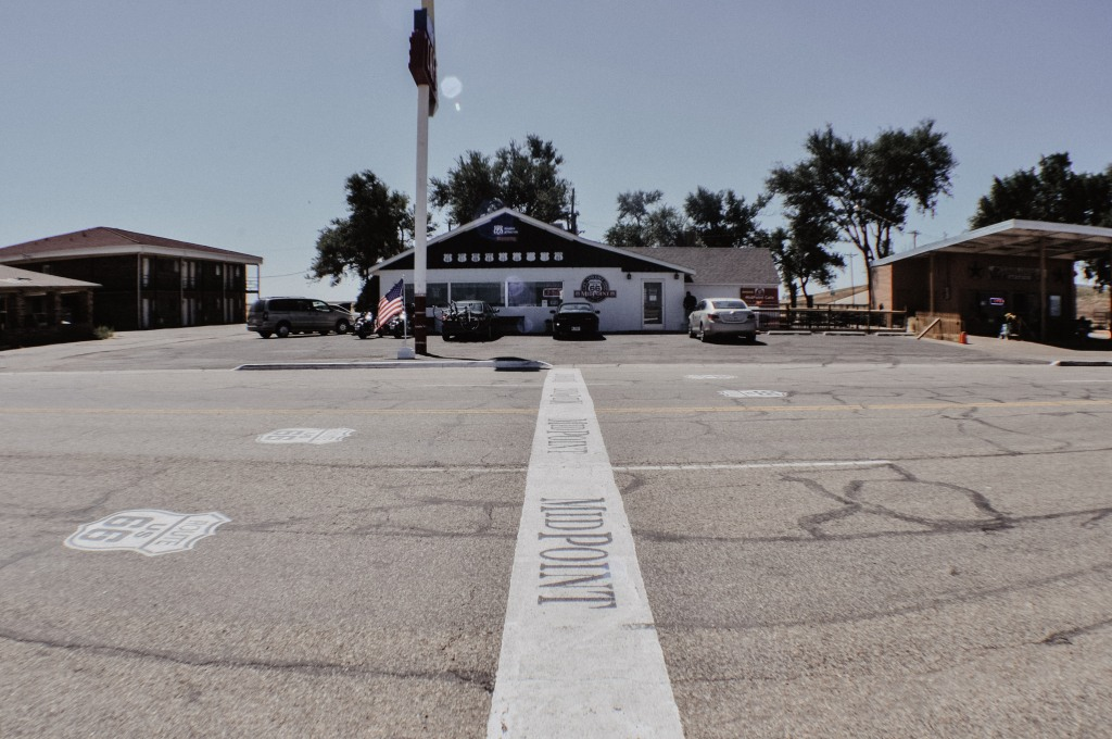The Midpoint Cafe in Adrian Texas along Route 66