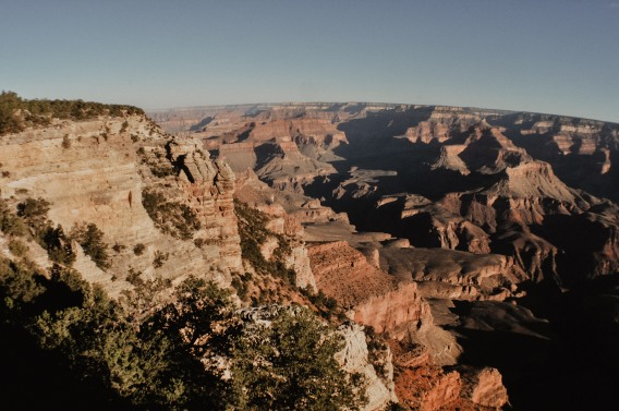 The Grand Canyon South Rim