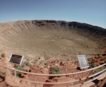 Meteor Crater Winslow Arizona