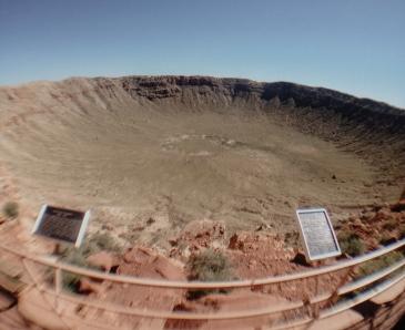 Meteor Crater Winslow Arizona