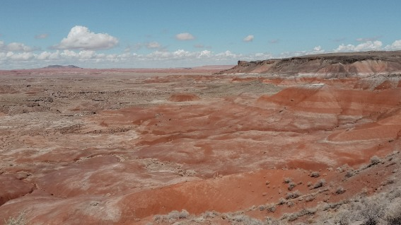 The Painted Desert at Petrified Forest National Park in Arizona