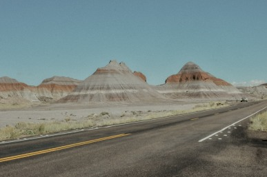 Road to Petrified Forest National Park