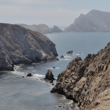 View from Inspiration point on Anacapa Island at Channel Island National Park