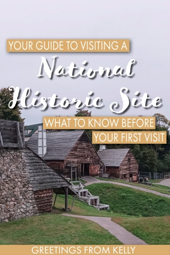 Your Guide to Visiting a National Historic Site Pin for Pinterest Board